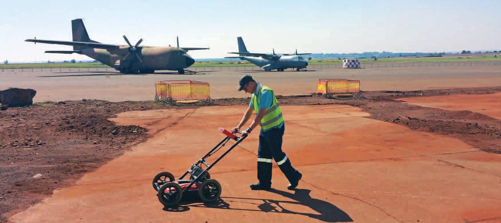 Utility Mapping: Airfield Upgrading- US Forces